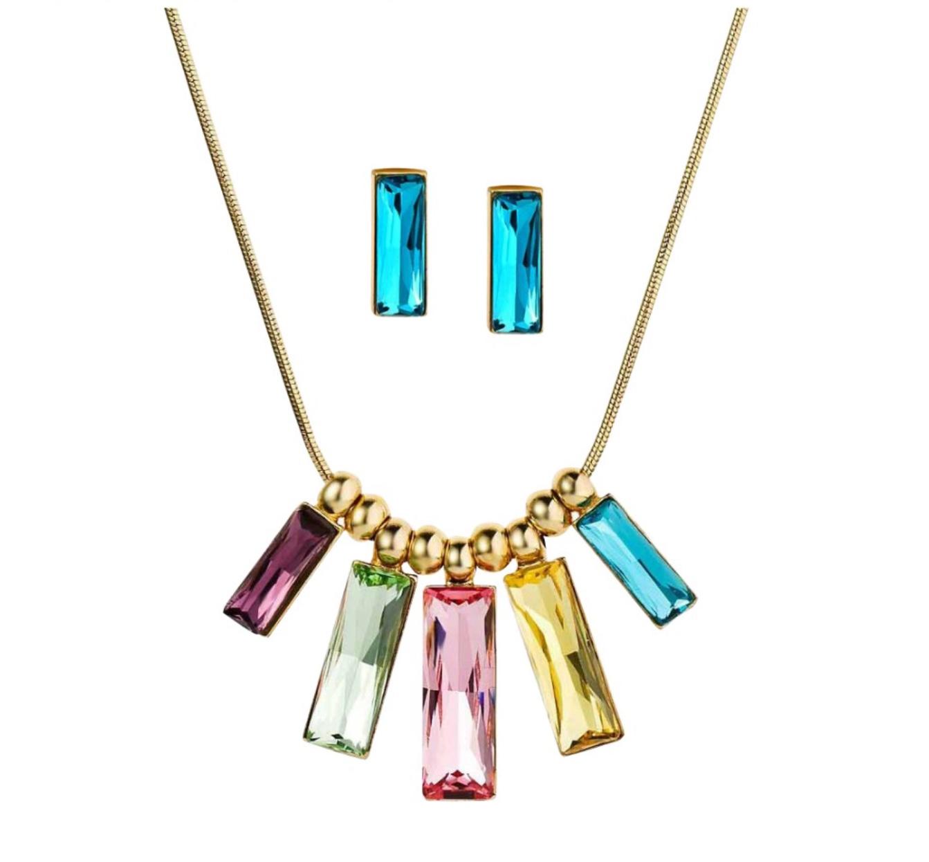 Set náhrdelník a náušnice Party Lady Swarovski elements ee0a53b3cfa