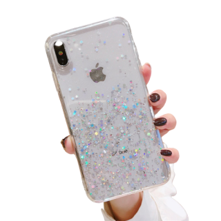 Púzdro Apple iPhone TPU Sparkle